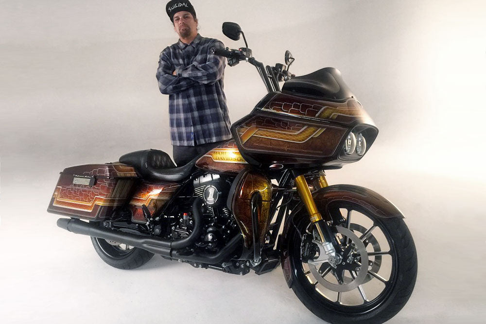 Danny G's Harley-Davidson Road Glide with Kraus GT Inverted Front End