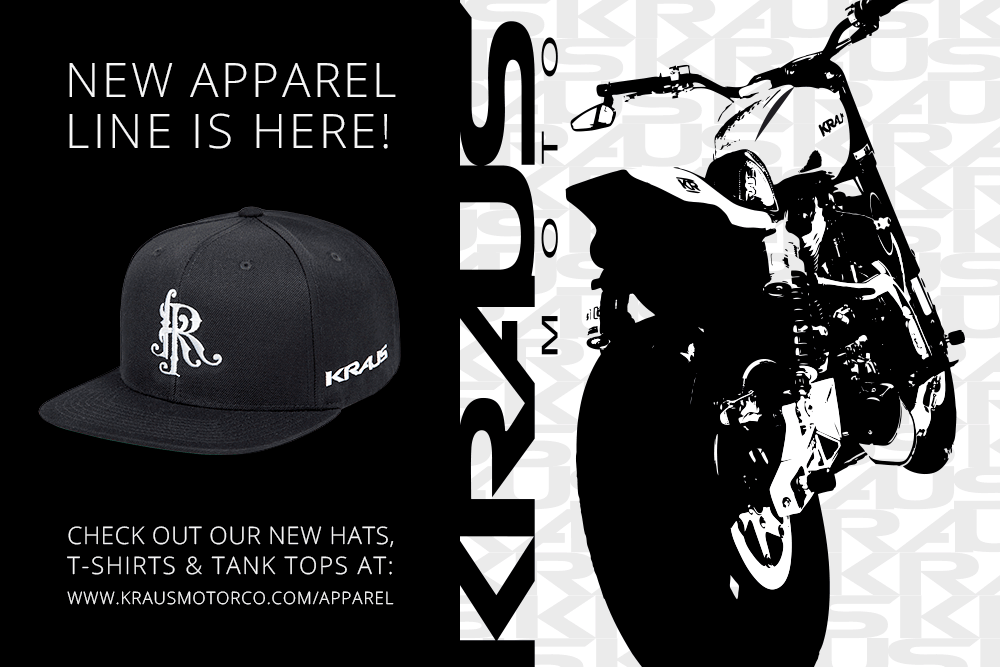 New Kraus Apparel Line is Here!