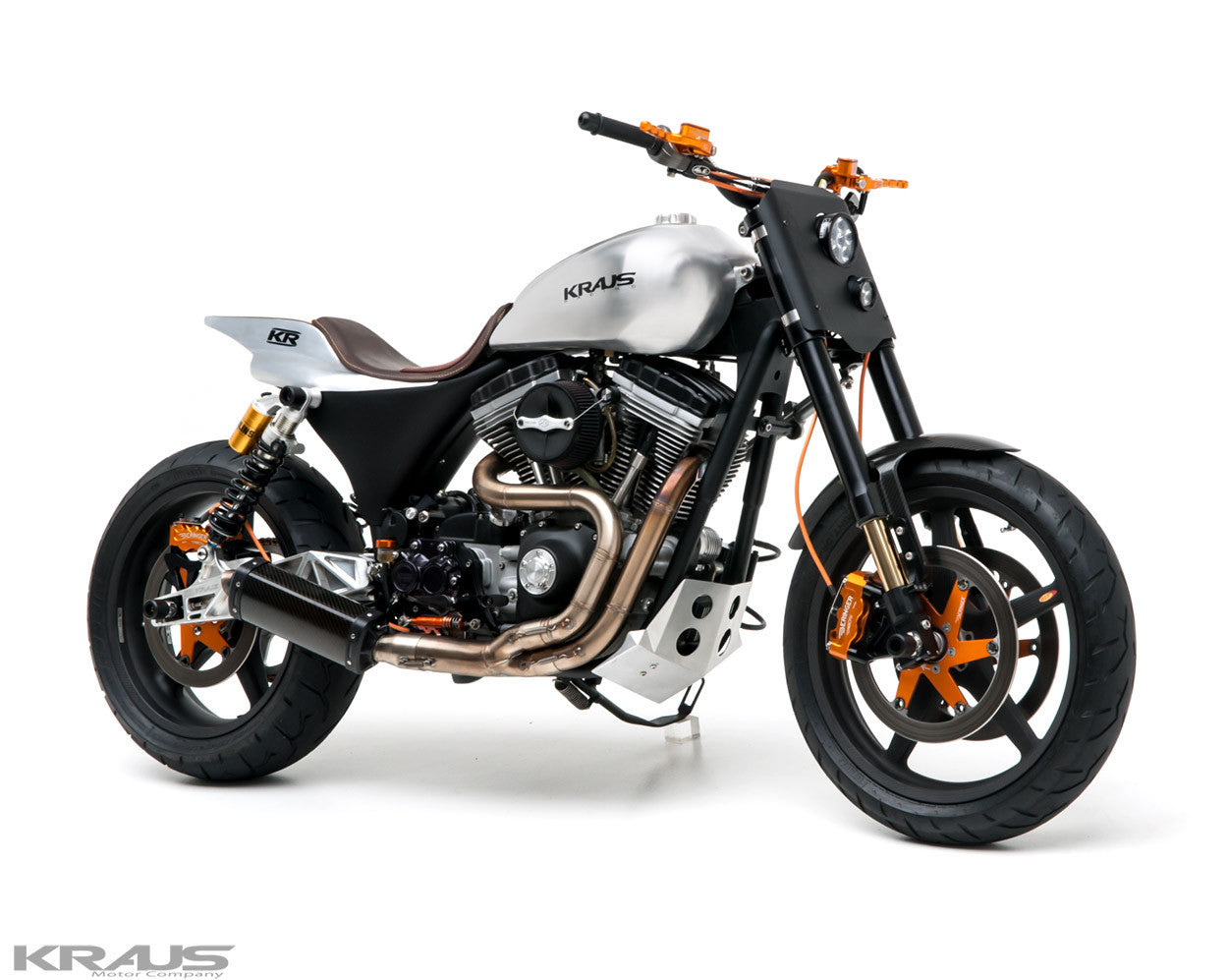 Custom Harley Davidson Dyna By Kraus: American Performance Motorcycle Parts
