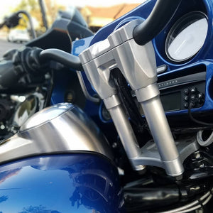 "FM Fly Moto Style Bars for 1"" Harley Hand Controls"