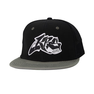 KRS Wildstyle Moto Trucker Hat - Black/Surplus