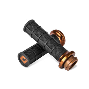 ODI V-Twin Lock-On™ Hart-Luck Signature Full-Waffle Grip Set