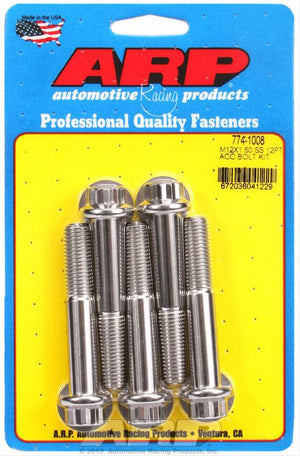 ARP Radial Caliper Bolts - 12 Point High Strength Stainless - (Sold as Pack Of 2)
