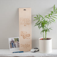 Personalised Bottle Gift Box (add your own image and message)