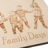 Bespoke Wooden Plaques with your photo engraved