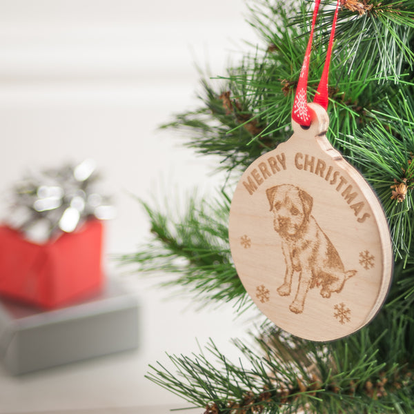 Personalised Christmas Wooden Baubles
