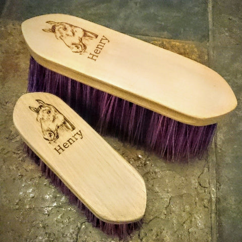 Horse/Pony Brushes set of 2