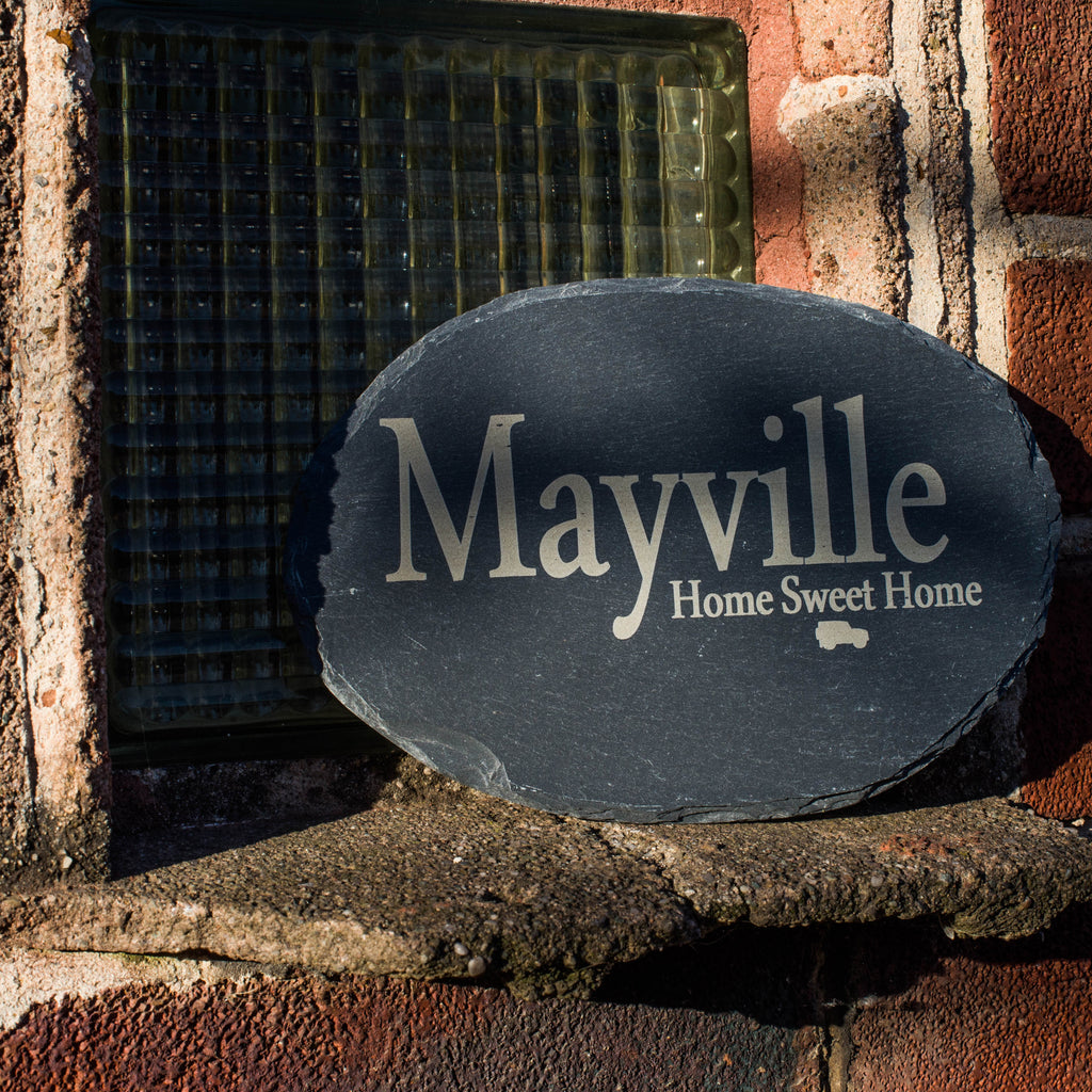 5ac0e1d6b58 Personalised Slate House Signs – Bespoke   Personal
