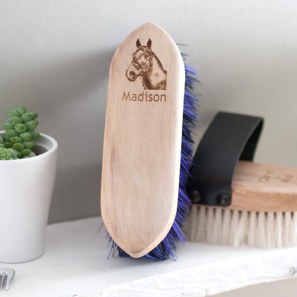 Personalised Horse/Pony Dandy Brush