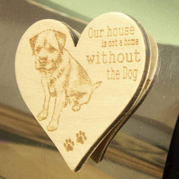 Bespoke Magnet with a photo of your own dog engraved
