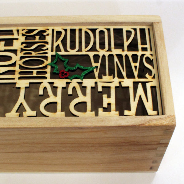 Equine personalised wine box (add your own 8 words)