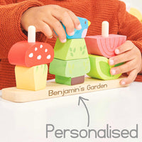 My Stacking Garden Le Toy Van - Personalised
