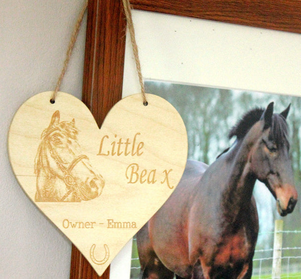Equine Plaques with photograph
