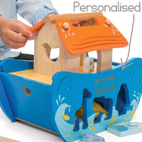 Le Toy Van Noah's Shape Sorter - Personalised