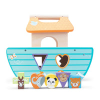 Personalised Wooden Ark - Le Toy Van