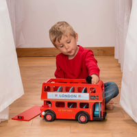 London bus, personalised, le toy van