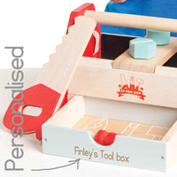 Personalised Wooden Tool Set - Le Toy Van