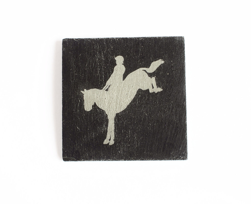 Cross Country Slate Coaster