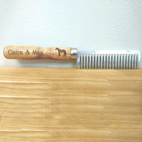 Personalised Mane Comb