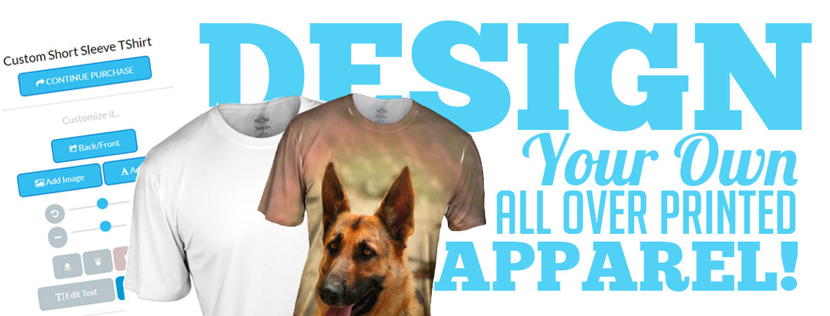 37d61ffaeb Design Your Own Custom All Over Print T-Shirts, Tank Tops, Leggings, and  More!