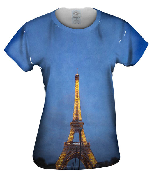 Eiffel Tower Womens Top