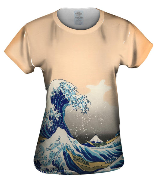 "Katsushika Hokusai - ""The Great Wave Off Kanagawa"" ( 1830-1833) Womens Top"