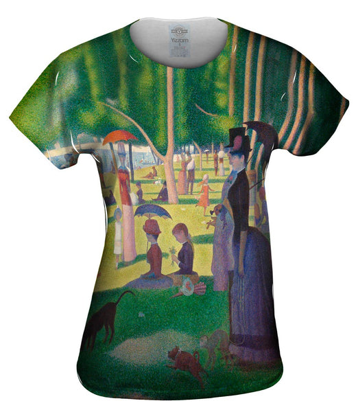 "Georges Seurat - ""The Sunday Afternoon on the Island of La Granda Jatte"" ( 1884-1886) Womens Top"