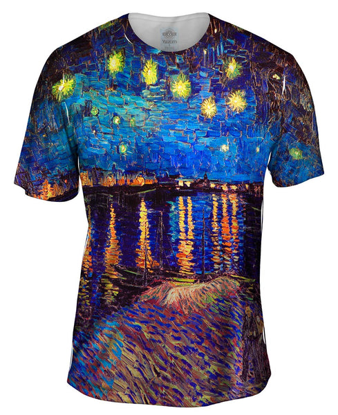 "Vincent Van Gogh - ""The Starry Night"" (1889) Mens T-Shirt"