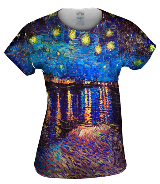 "Vincent Van Gogh - ""The Starry Night"" (1889) Womens Top"