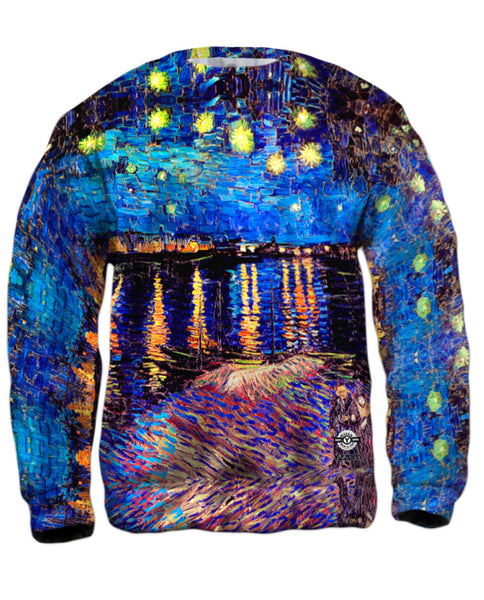 "Vincent Van Gogh - ""The Starry Night"" (1889) Mens Sweatshirt"