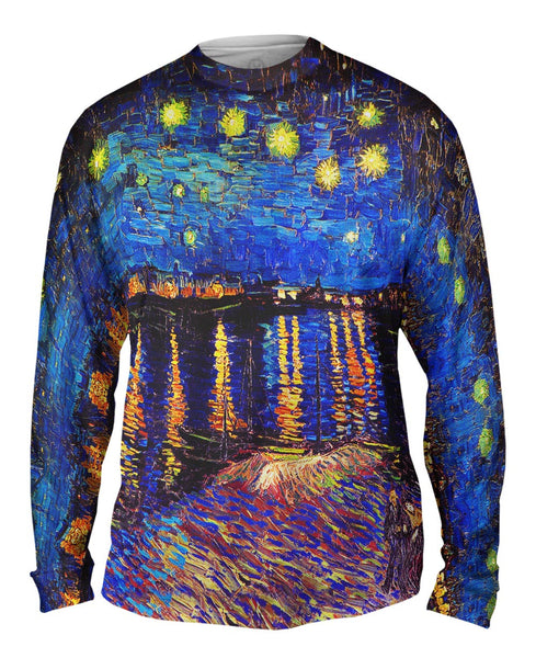 "Vincent Van Gogh - ""The Starry Night"" (1889) Mens Long Sleeve"