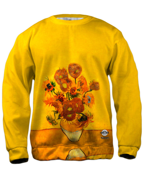 "Vincent Van Gogh - ""Sunflowers(London version)"" (1889) Mens Sweatshirt"