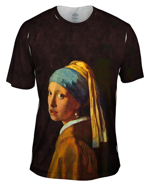 "Johannes Vermeer - ""Girl With a Pearl Earring"" (1665) Mens T-Shirt"