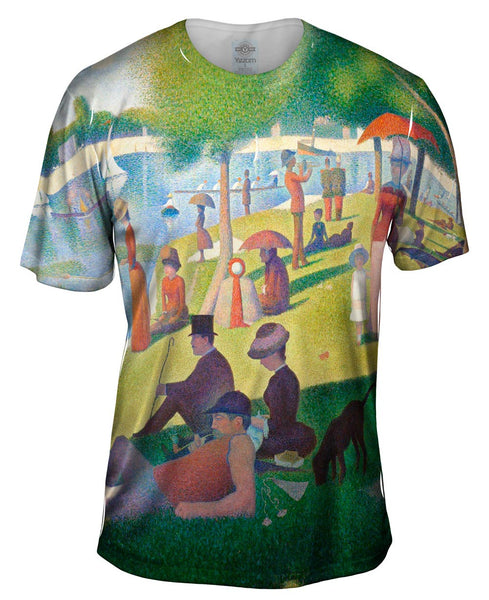 "Georges Seurat - ""Sunday Afternoon on the Island of La Granda Jatte"" (1884-1886) Mens T-Shirt"