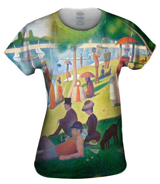 "Georges Seurat - ""Sunday Afternoon on the Island of La Granda Jatte"" (1884-1886) Womens Top"