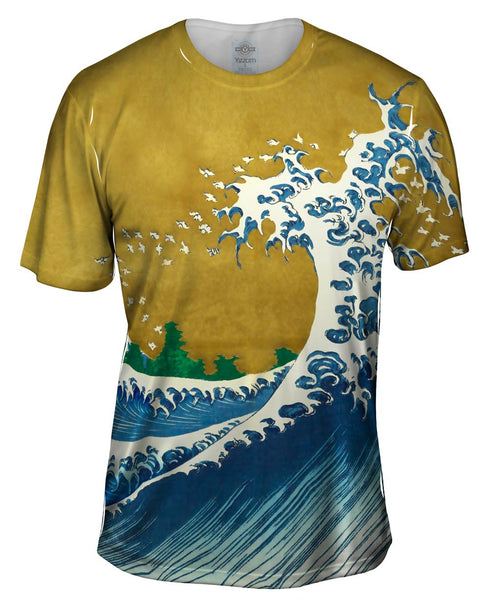 "Katsushika Hokusai ""The Wave"" Mens T-Shirt"