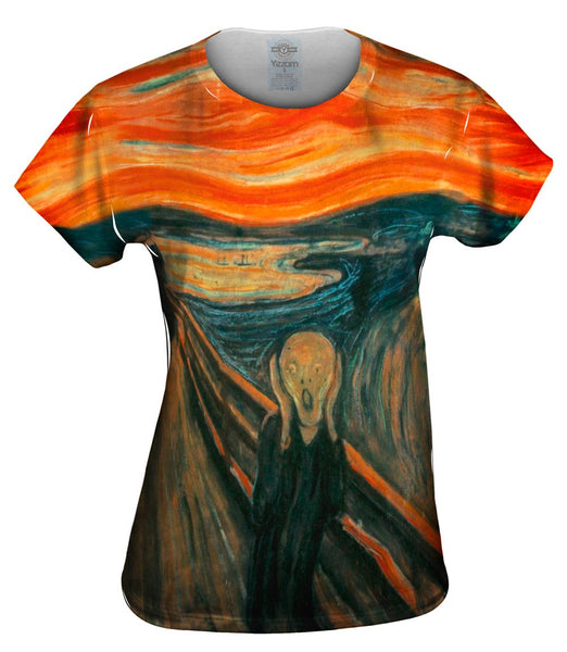 "Edvard Munch - ""The Scream"" (1895) Womens Top"