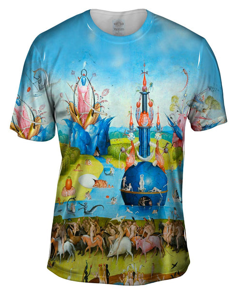 "Hieronymus Bosch ""The Garden of Earthly Delights"" 01 Mens T-Shirt"