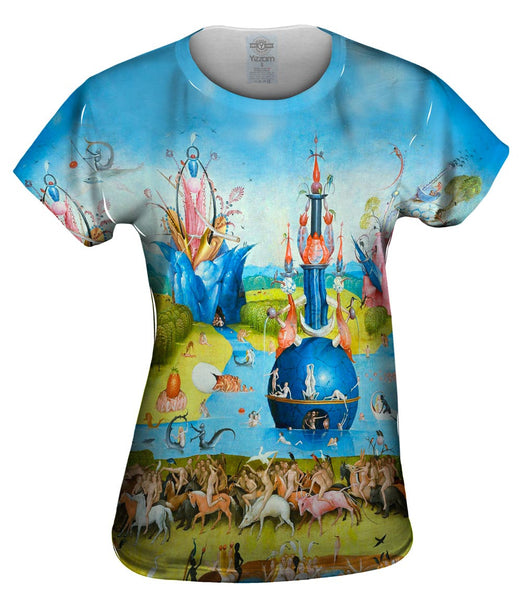 "Hieronymus Bosch ""The Garden of Earthly Delights"" 01 Womens Top"