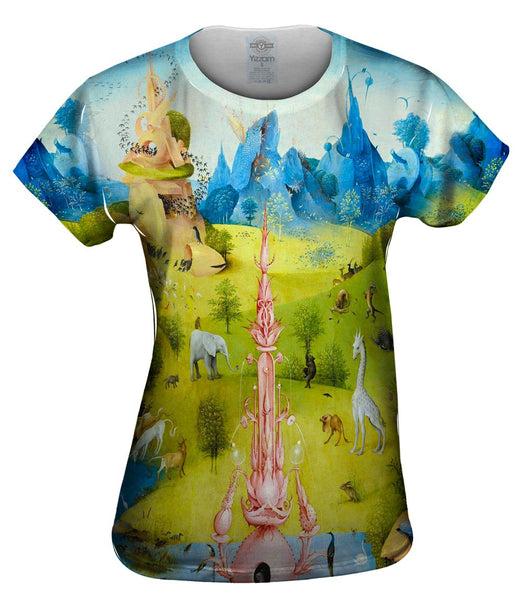 "Hieronymus Bosch ""The Garden of Earthly Delights"" 03 Womens Top"