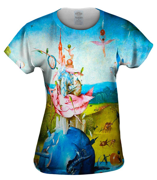 "Hieronymus Bosch ""The Garden of Earthly Delights"" 04 Womens Top"