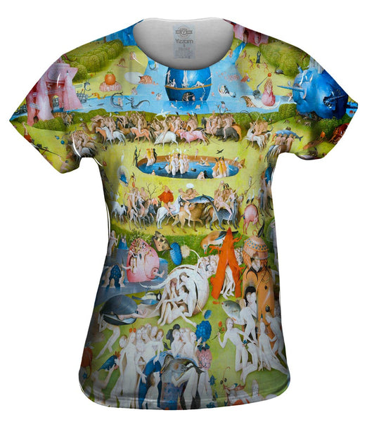 "Hieronymus Bosch ""The Garden of Earthly Delights"" 05 Womens Top"
