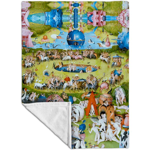 "Hieronymus Bosch ""The Garden of Earthly Delights"" 05 Fleece Blanket"