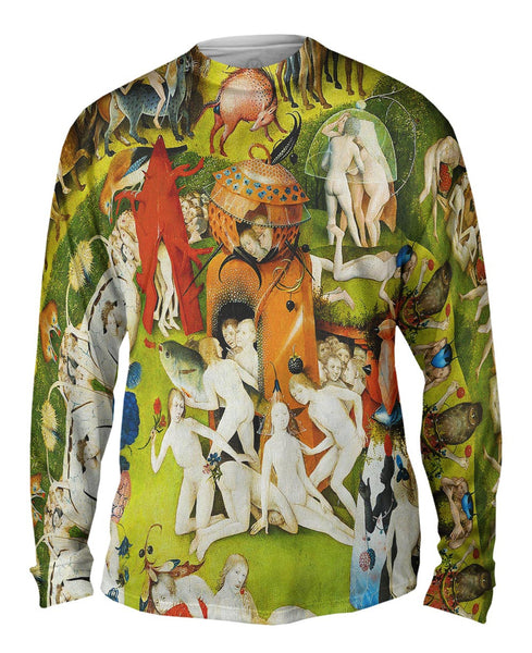 "Hieronymus Bosch ""The Garden of Earthly Delights"" 05 Mens Long Sleeve"