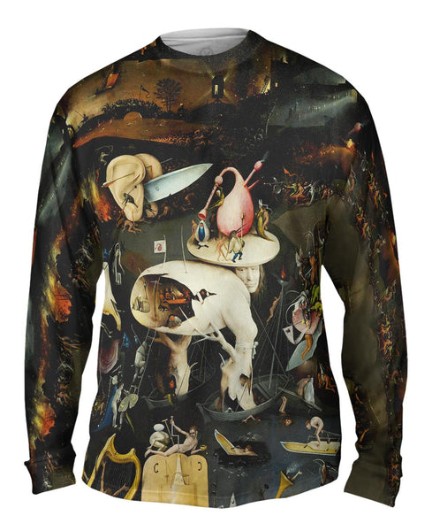 "Hieronymus Bosch ""The Garden of Earthly Delights"" 06 Mens Long Sleeve"