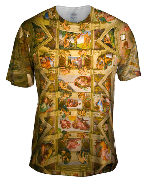 "Michelangelo - ""Sistine Chapel 2"" Mens T-Shirt"