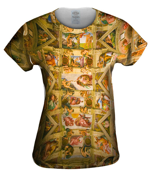 "Michelangelo - ""Sistine Chapel 2"" Womens Top"