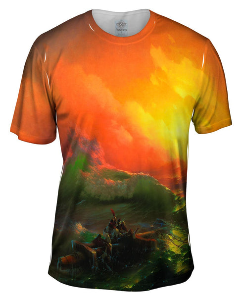 "Ivan Aivazovsky - ""The Ninth Wave"" Mens T-Shirt"