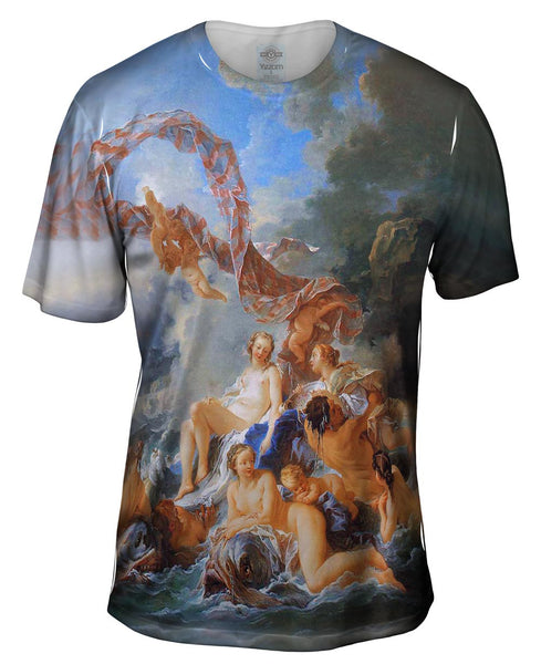 "François Boucher - ""Vulcan Presenting Weapons For Aeneas To Venus"" Mens T-Shirt"