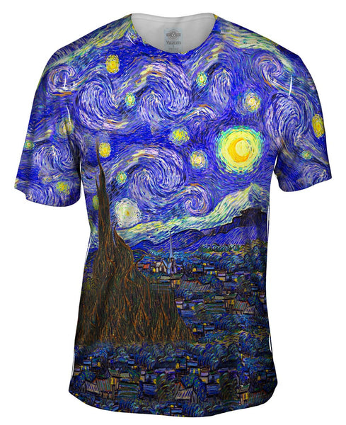 "Vincent van Gogh - ""The Starry Night"" Mens T-Shirt"